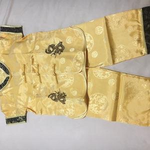 Chinese children's pajamas